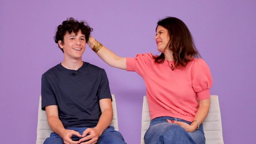 """""""Vidéo Maman"""" : Julie et son fils Zacharie nous parlent de leur éducation baba cool et engagée"""