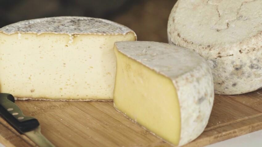 L'Acajou, un fromage unique 100% au lait de Salers