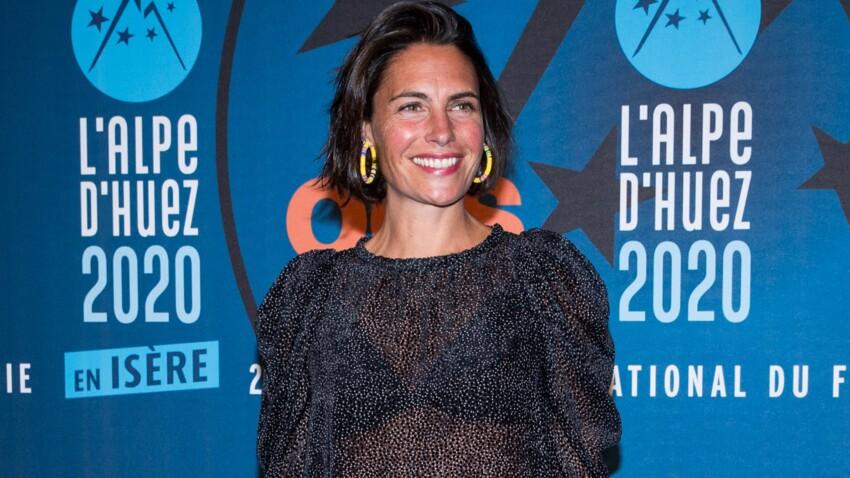 Alessandra Sublet craquante dans une robe cache-coeur parfaite pour cet été...