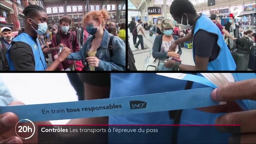 SNCF et Pass sanitaire : à quoi servent ces bracelets bleus donnés aux voyageurs dans les gares ?