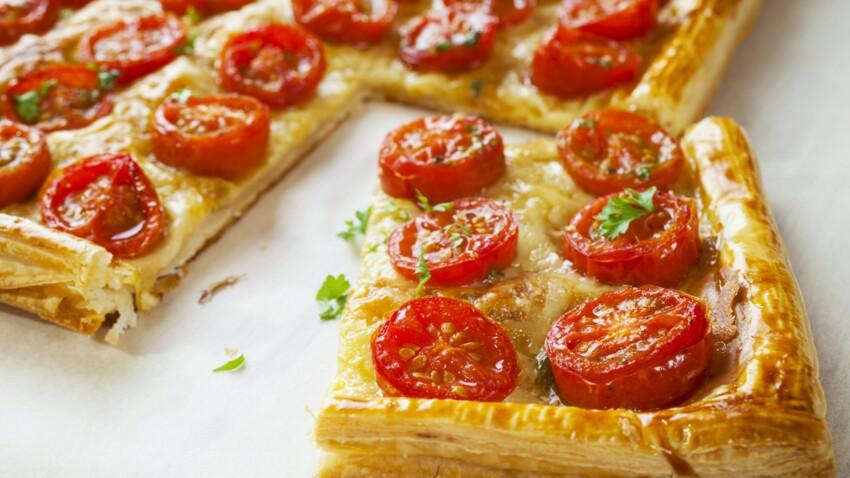 La tarte surprise de Christophe Michalak aux tomates cerises ultra-gourmande
