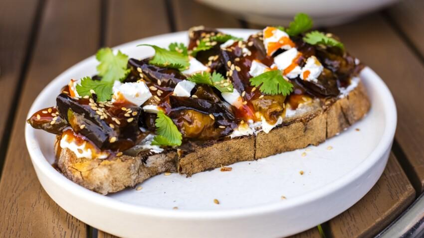 La recette de bruschetta à l'aubergine de Diego Alary qui fait fureur sur les réseaux sociaux