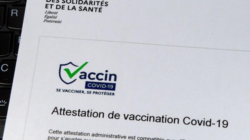 Pass sanitaire : peut-on présenter une photocopie de son certificat de vaccination ?