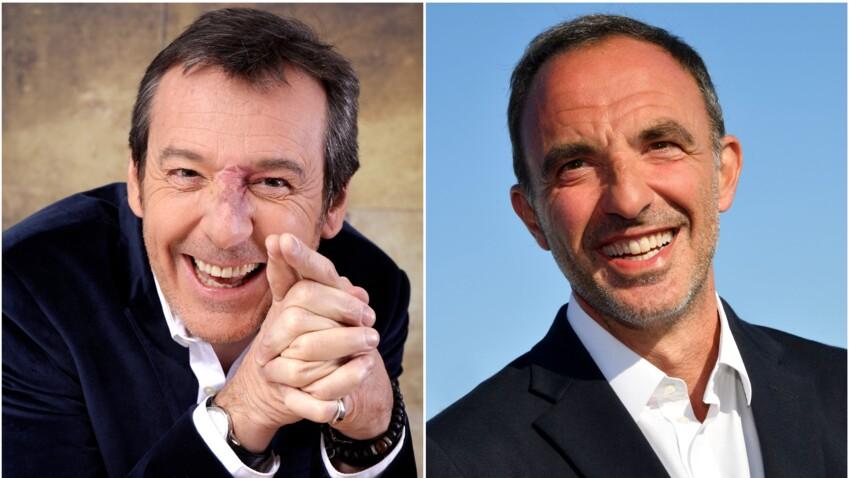Jean-Luc Reichmann se moque de Nikos Aliagas et de son nouveau look… inattendu !