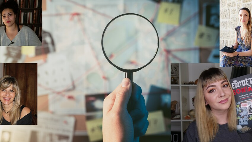 Passionnées de faits divers : elles mènent l'enquête sur le web