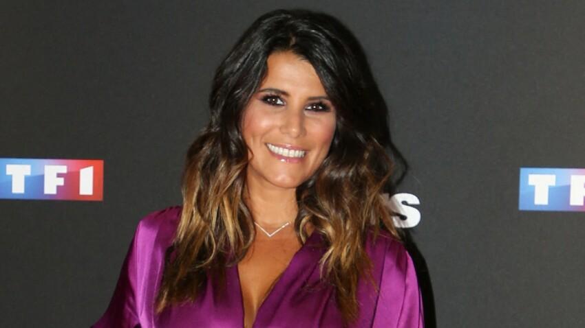 Karine Ferri glamour en tulle et cuir : elle annonce une heureuse nouvelle