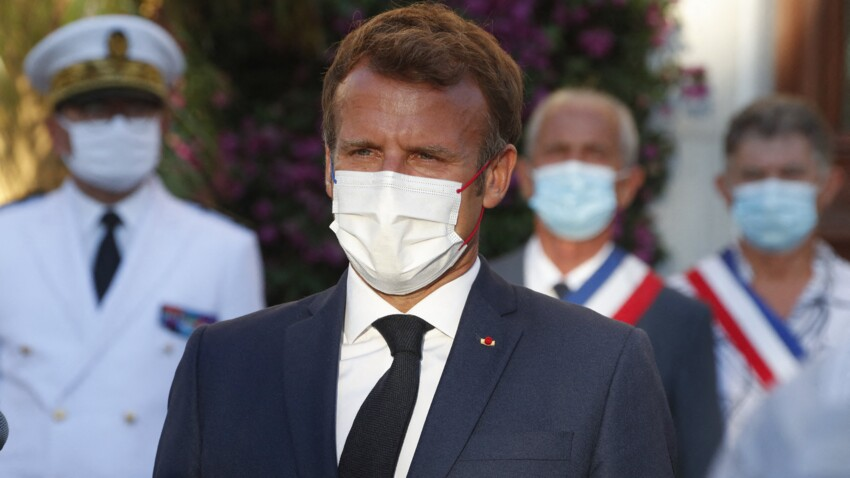 Agacé, Emmanuel Macron réplique pour mettre fin à la polémique sur les réfugiés afghans