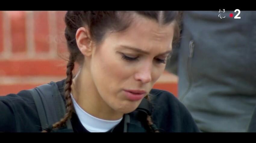 """""""Fort Boyard"""" : Iris Mittenaere en larmes, complètement paniquée par le vertige"""
