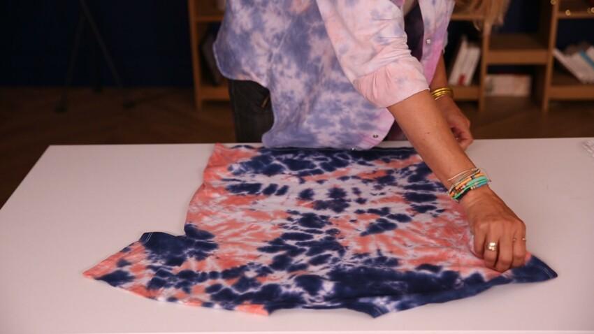 Tuto : comment réaliser un tie & dye sur un vêtement ?