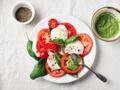 Tomate-mozzarella : la recette revisitée par Christophe Michalak