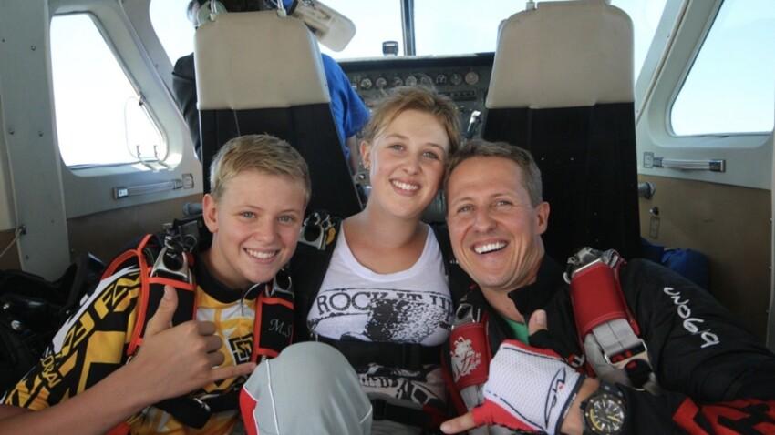 Michael Schumacher : ses enfants Gina et Mick décrivent leur quotidien avec leur père depuis l'accident - EXCLU