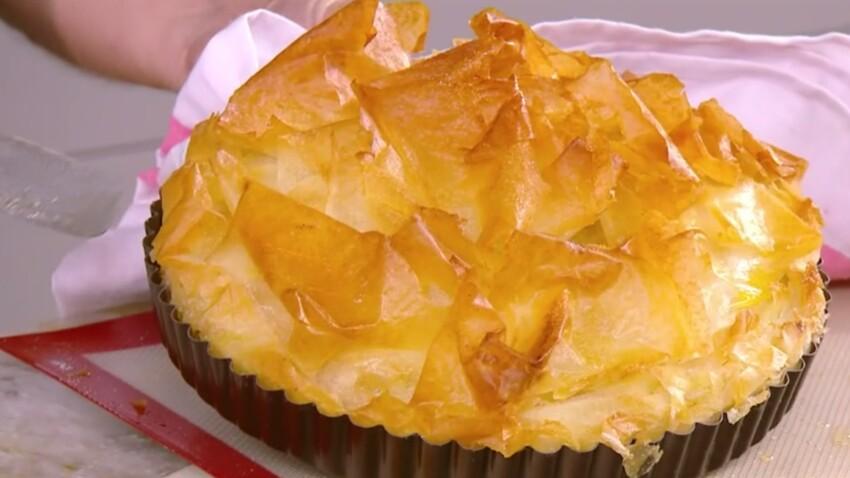 """""""Tous en cuisine"""" : la recette de la croustade de pommes de Cyril Lignac"""