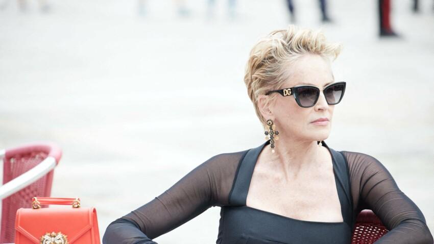 Sharon Stone : à 63 ans, l'actrice plus sexy que jamais à Venise
