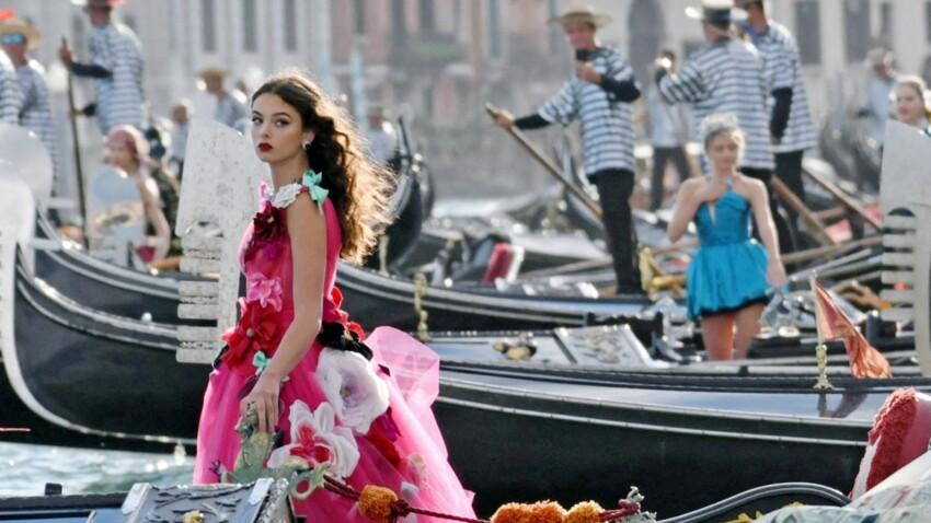 Deva, la fille de Monica Bellucci et Vincent Cassel, resplendissante à Venise - DIAPO