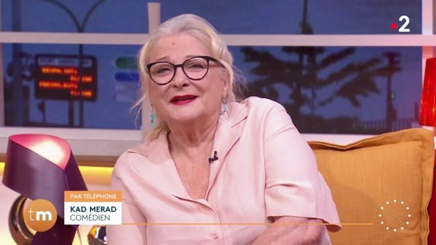 """Josiane Balasko gênée par son mari en direct à la télévision : """"Il fait beaucoup de bruit"""""""