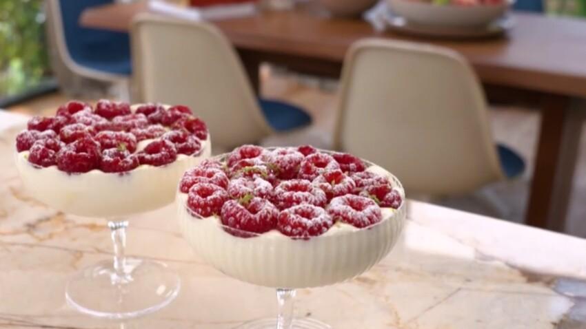"""""""Tous en cuisine"""" : la recette du tiramisu aux fruits rouges revisité de Cyril Lignac"""