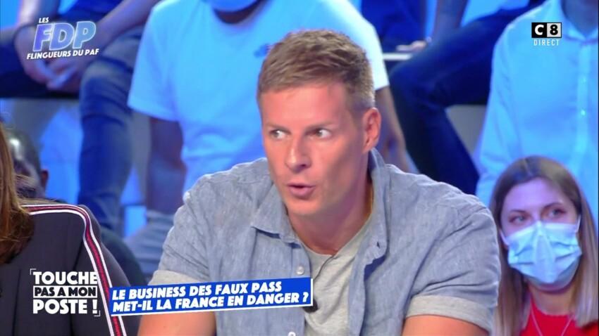 Matthieu Delormeau pousse un coup de gueule contre un invité ayant acheté un faux pass sanitaire