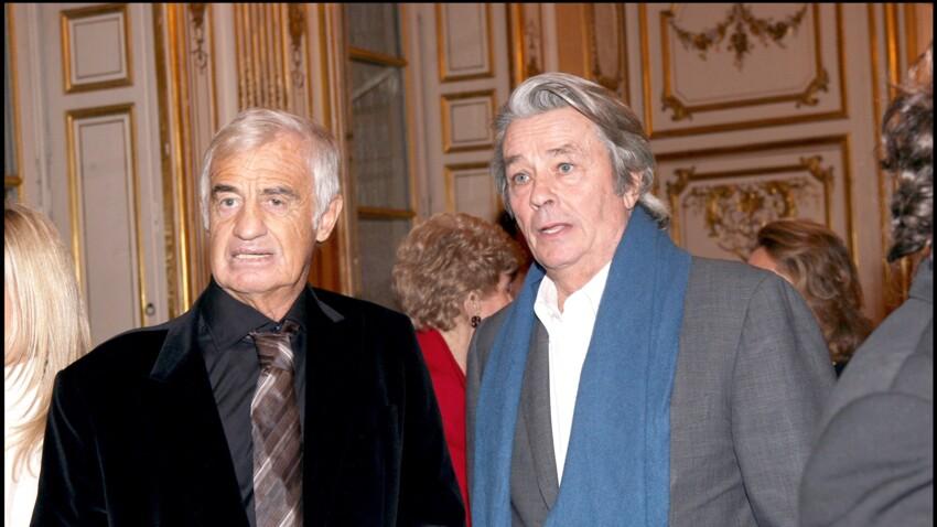 """Mort de Jean-Paul Belmondo : Alain Delon, """"anéanti"""", livre un vibrant hommage à son ami"""