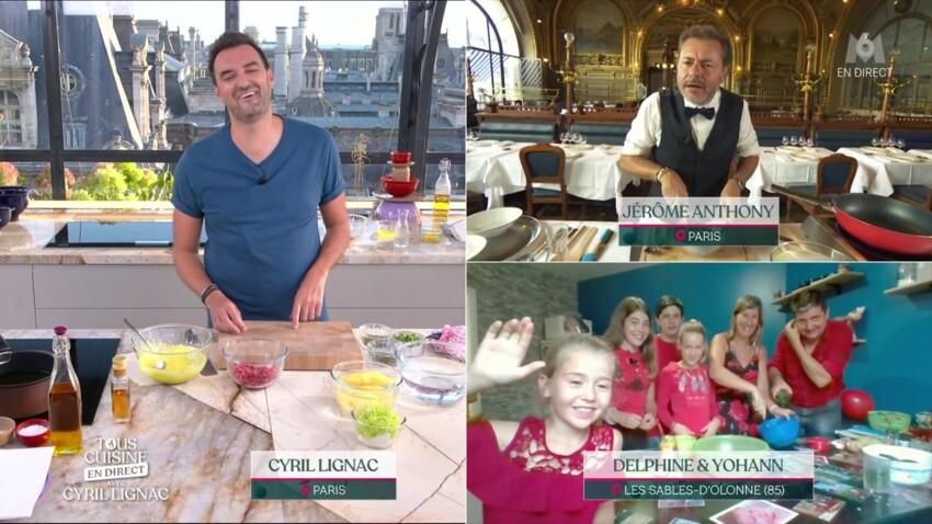 """""""Tous en cuisine"""" : Cyril Lignac reçoit une adorable demande en mariage"""