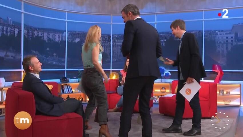 """Une chroniqueuse de """"Télématin"""" interpelle Olivier Véran : """"Un petit peu d'alcool, ça va vous faire du bien !"""""""