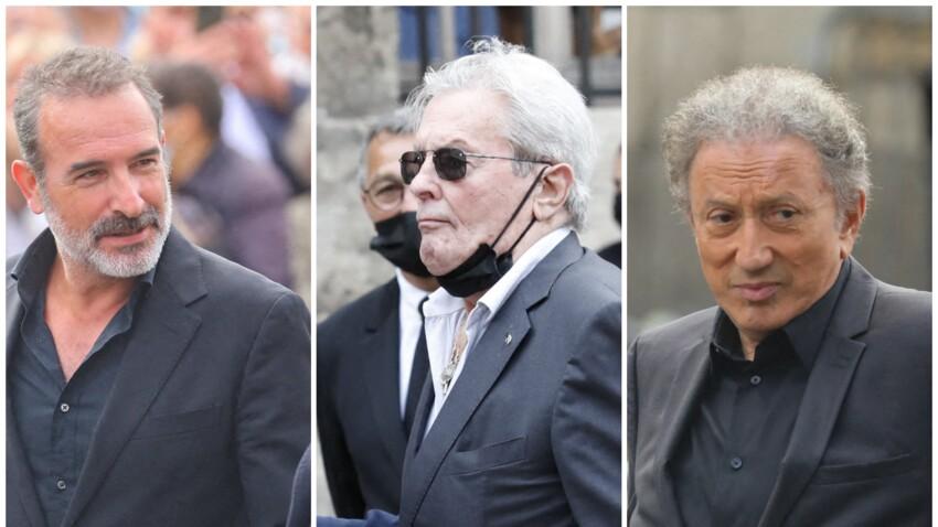 Obsèques de Jean-Paul Belmondo : Alain Delon, Jean Dujardin, Michel Drucker... ses proches présents pour lui dire adieu - PHOTOS