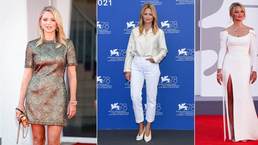 Virginie Efira : ses plus beaux looks repérés à la Mostra de Venise 2021