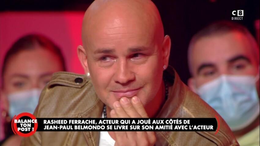"""Mort de Jean-Paul Belmondo : Rachid Ferrache, le petit garçon de """"L'As des as"""", fond en larmes en direct"""