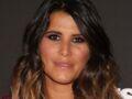 Karine Ferri rock et glamour en cuir et top dentelle ultra-tendance