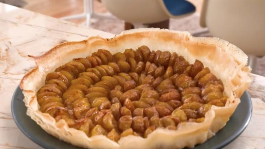 """""""Tous en cuisine"""" : la recette de la tarte aux mirabelles de Cyril Lignac"""