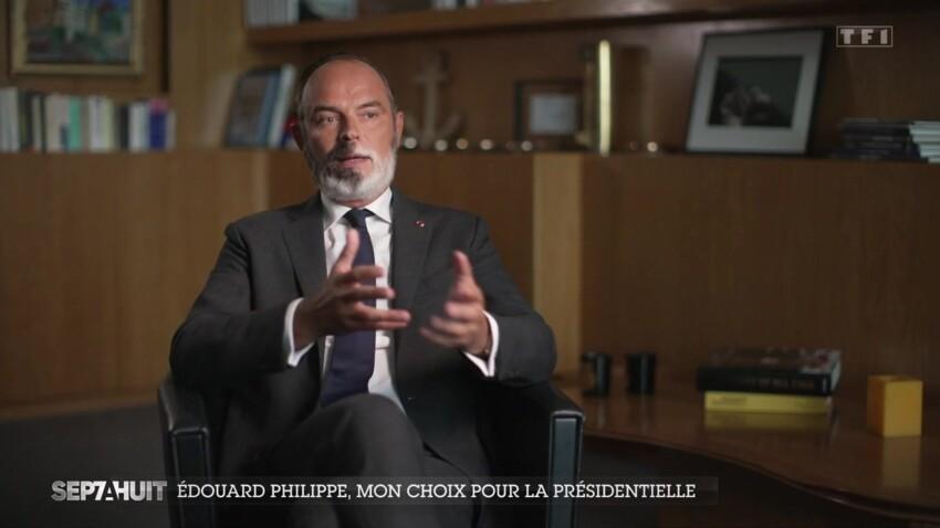 La voix tremblante,  Edouard Philippe évoque son pire moment à Matignon