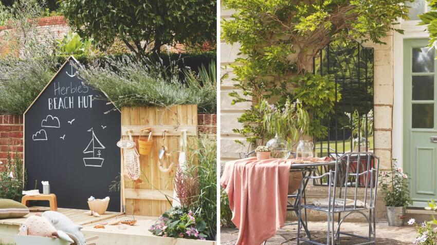 Déco jardin : 2 idées originales pour habiller les murs