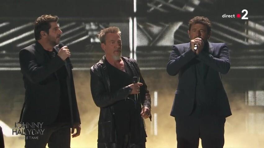 Concert hommage à Johnny Hallyday : Patrick Bruel conspué par les internautes pour sa prestation sur scène