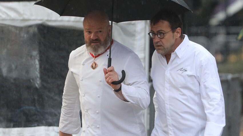 """Michel Sarran : pourquoi Philippe Etchebest le traitait de """"vieux schnock"""" sur les tournages de """"Top Chef"""""""