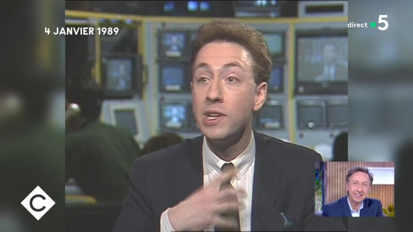 """""""C à vous"""" déniche un débat improbable entre Stéphane Bern et Jean-Michel Blanquer, datant de 1989"""