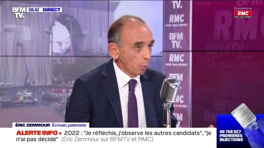 Éric Zemmour candidat à la présidentielle ? Il ne ferme pas la porte