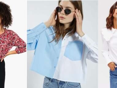 Blouses et chemises : 15 nouveautés canons à moins de 30 euros