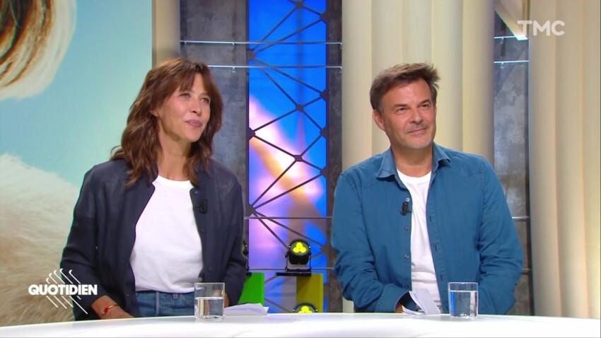 Sophie Marceau et François Ozon amusés par le lapsus coquin de Yann Barthès