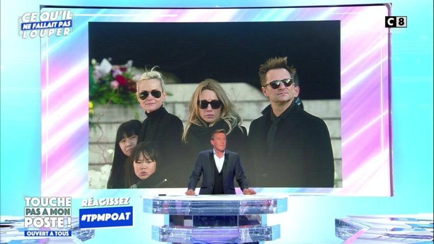 """""""Touche pas à mon poste"""" : Benjamin Castaldi commet un terrible lapsus sur le concert de Johnny Hallyday"""