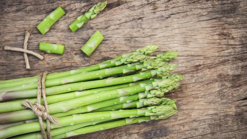 Asperge verte : 10 recettes light pour se régaler