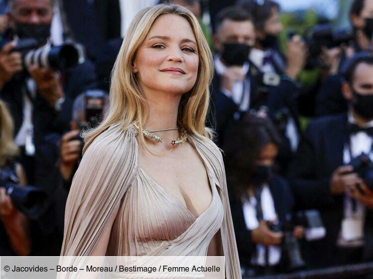 Virginie Efira : robe moulante ultra-courte et talons hauts, elle fait sensation - PHOTOS