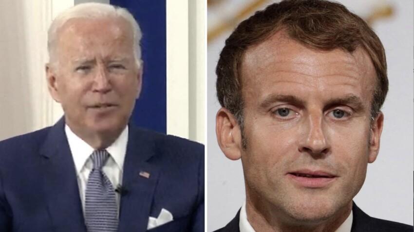 Crise des sous-marins : ce qu'Emmanuel Macron et Joe Biden se sont dit au téléphone