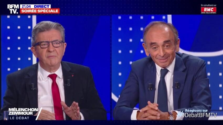Jean-Luc Mélenchon et Eric Zemmour : ce seul (et surprenant) point d'accord lors du débat