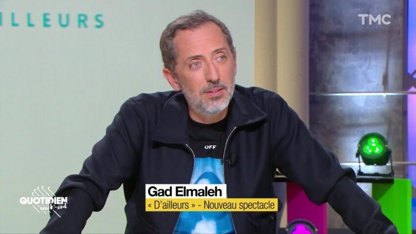 Gad Elmaleh : sa blague très drôle sur les accusations de plagiat
