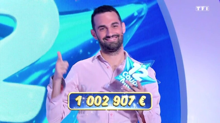 """""""Les 12 coups de midi"""" : Bruno remporte le million d'euros et entre dans l'histoire des jeux télévisés !"""