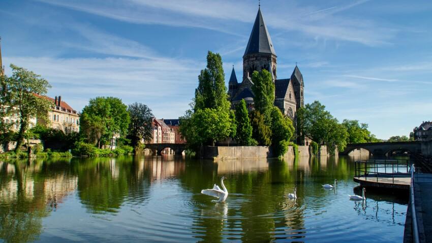Voyage en Moselle : découvrez Metz, une nature impériale