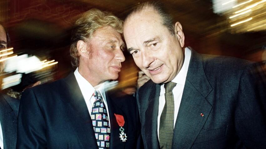 """Johnny Hallyday : ce """"service hallucinant"""" demandé à Jacques Chirac"""