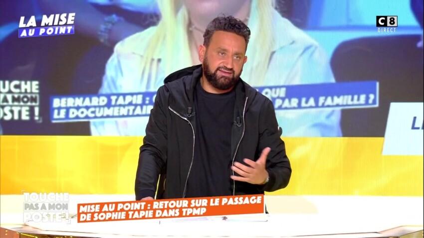 """""""J'ai été maladroit"""" : Cyril Hanouna présente ses excuses après son altercation avec Sophie Tapie"""