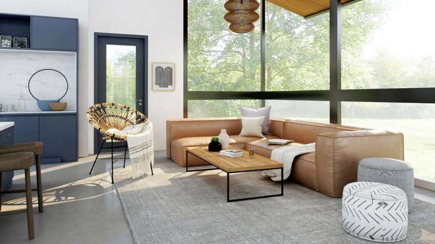 Déco de salon industriel vintage : transformez votre intérieur avec ce mélange de styles
