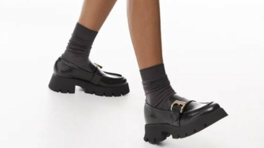 Mocassin chunky : voici la dernière tendance chaussure à adopter illico !