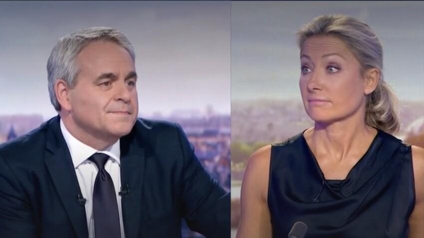 """""""Elle l'a atomisé"""" : Xavier Bertrand ridiculisé par Anne-Sophie Lapix"""